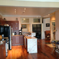 Grand,Spacious, 5 1/2,ADJ Westmount,2 CAC,2 BDRMS,5 Min Metro