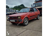 Left hand drive Toyota Starlet KP61L 1.3 S REAR WHEEL DRIVE. Low miles.
