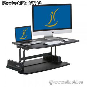 """Black Height Adjustable Sit/Stand Pro 30"""" Varidesk"""