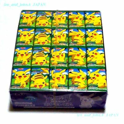 Pokemon Bubble Gum Pikachu anime popular Top gum apple flavor 60p lots japan F/S