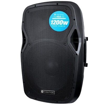 Evolution RZ15A V3 1200W Two Way Active DJ Disco PA House Party Speaker