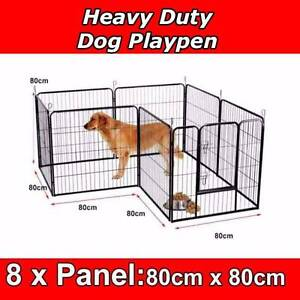 Dog Puppy Pet Playpen Portable Exercise Cage Fence Enclosure Welshpool Canning Area Preview