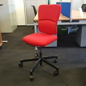 Steelcase Operators Chair Red