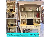 Vintage dresser/ home office workstation