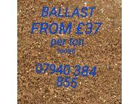 BALLAST FROM £37 per TON LOOSE