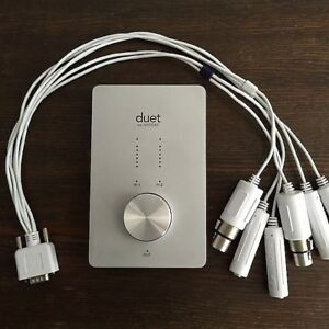 Apogee duet 2 channel firewire audio interface