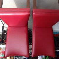 Two excellent red chairs