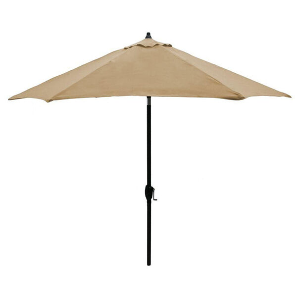 The Hampton Bay Ucs00301g Andrews Umbrella Is A Beige Patio Perfect For Use In Table Or As Free Standing To Lounge Under