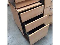 Office pedestal, drawer units