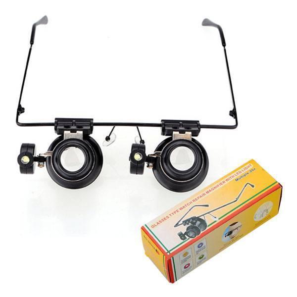 Vergrootglas Bril Met LED Verlichting | 2dehands.be