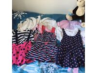 Girls play suits age 2-3