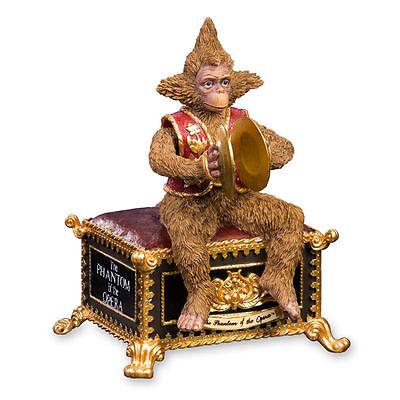 San Francisco  Music Box Company Figurine Phantom of the Opera - Animated Monkey