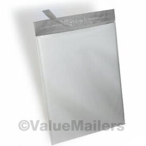 100 Bags 50 each 12x16 & 14.5x19 Poly Shipping Mailers Envelopes Bags