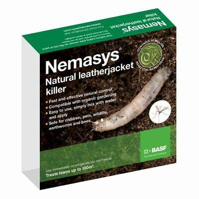 LeatherJacket Killer Nematodes (Treats 500 sq.m) Non Harmful Pet Friendly