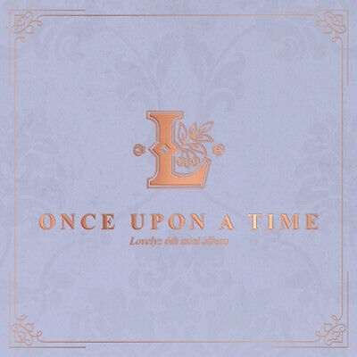 LOVELYZ ONCE UPON A TIME 6th Mini Album NORMAL CD+POSTER+Photo Book+Letter+Card
