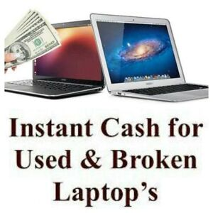 $$$$$$  Get Fast Cash For Your Broken Or Unwanted Laptop  $$$$$$