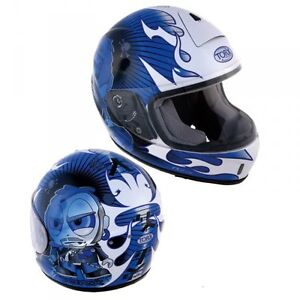 casque enfant integral homologu taille s helmet moto scooter karting casco ebay. Black Bedroom Furniture Sets. Home Design Ideas