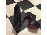 Plat form boots
