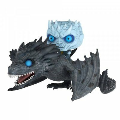 Game Of Thrones Night King On Dragon Viserion POP Rides Vinyl Figure FUNKO