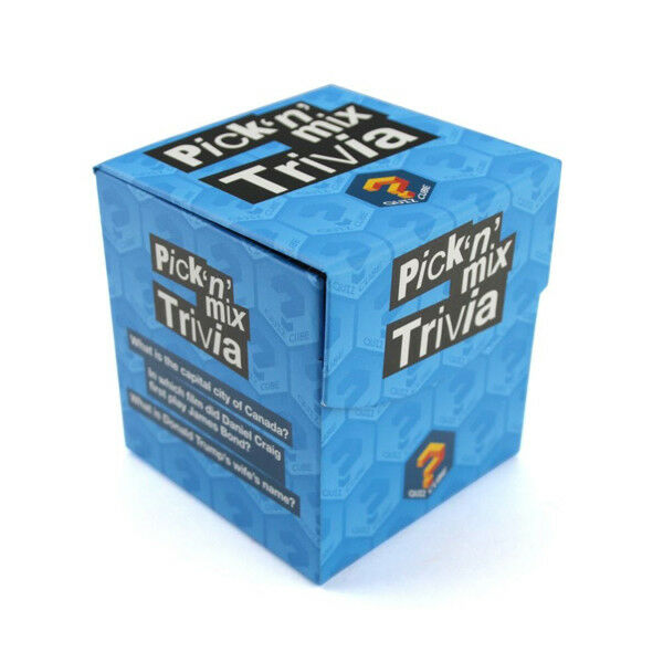 Details about Quiz Cube Pick 'N' mix Trivia Questions Christmas Stocking  Filler Gift