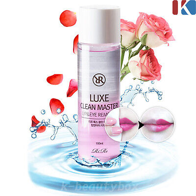 Luxe Clean Master Lip & Eye Remover 100ml Powerful Waterproof Makeup Remover AA4