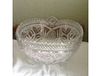 Cristal Fruit Bowl