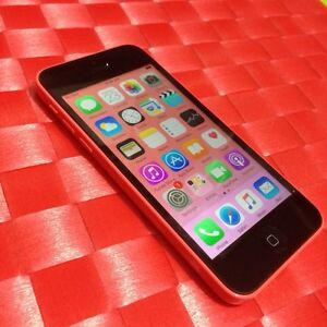 Iphone 5c Bell or Virgin Mobile-no scratches & no icloud-locked