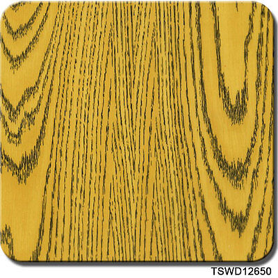 Hydrographics Film Yellow Wood Grain 20 X 6.5