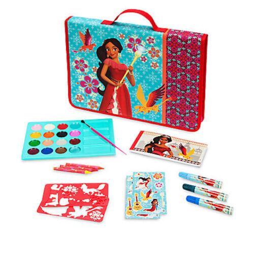 NWT Disney Store Elena of Avalor ART Folio Zip UP case School Supplies