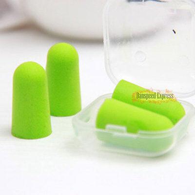 10pcs Soft Foam Ear Plugs Anti Noise Earplugs Earbuds Comfortable For Sleep