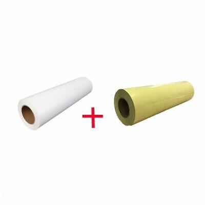 White Eco-solvent Printable Heat Transfer Vinyl Application Tape 19.7 X 5y