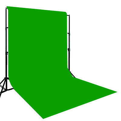 Chroma Key Muslin Green backdrop Support Stand Video Chroma Key Green Muslin