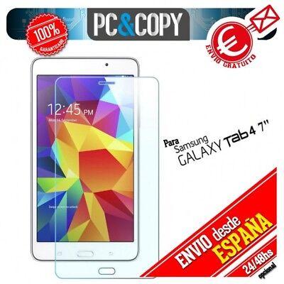 Cristal templado protector pantalla Samsung Galaxy Tab 4 7