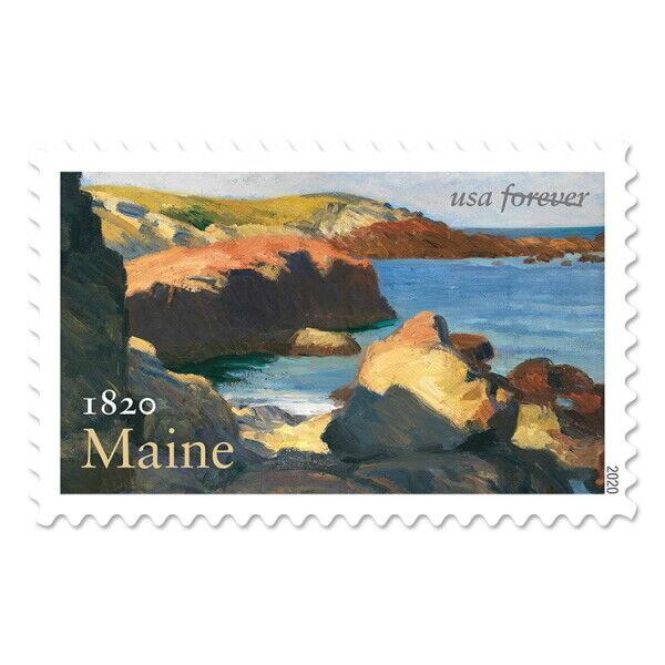 USPS New Maine Statehood Pane of 20