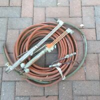 Hose and torches