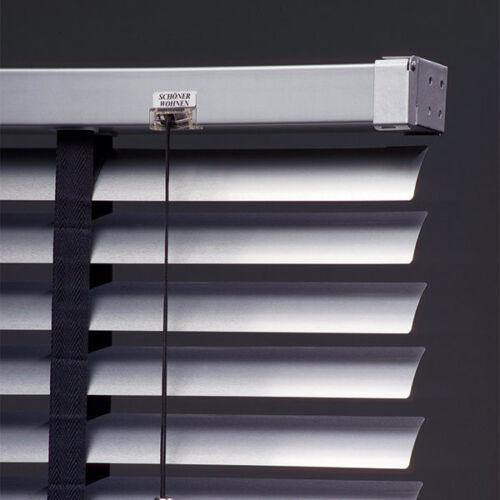 Schöner Wohnen Aluminium Jalousie 50mm silber Rollo Jalousette Sonnenschutz
