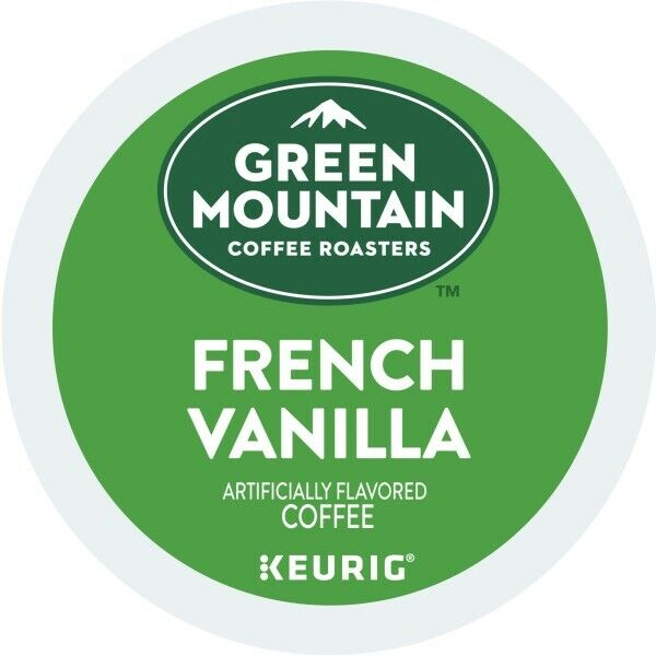 Green Mountain Coffee French Vanilla, Keurig K-Cup Pod, Light Roast, 96 Count