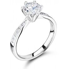 18ct White Gold BRILLIANT 0.71ct Diamond Engagement Ring (GIA Ap) Weston Creek Preview