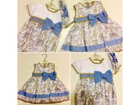 2 x *Brand New* up to 3M baby clothes dress