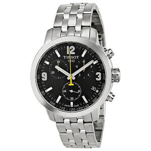 7ab734929 Tissot PRC 200 T0554171105700 Wrist Watch for Men Stainless Steel ...