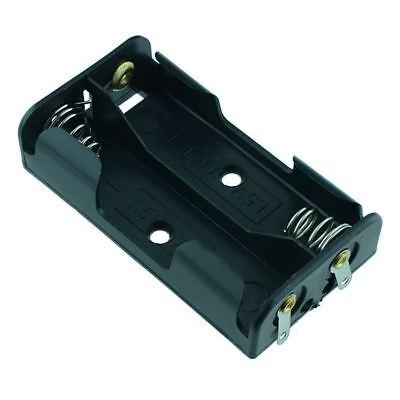 Aa X 2 Open Battery Holder Solder Terminals