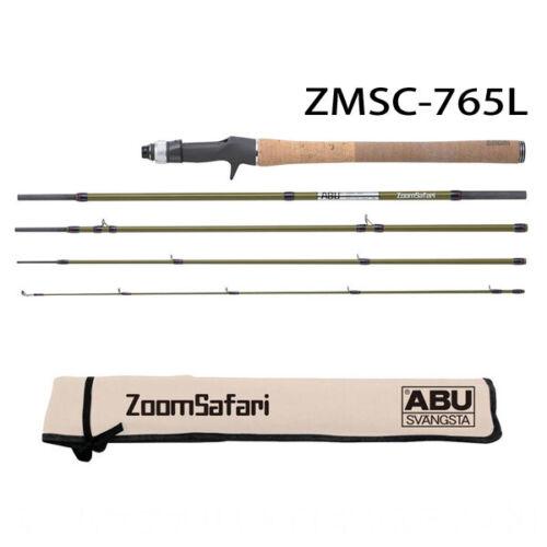 Abu Garcia ZMSC-765L 5 Piece Bait Casting Model Fishing Rod Zoom Safari JAPAN