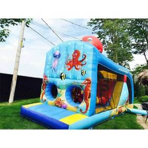 Location de jeu gonflable, inflatable game