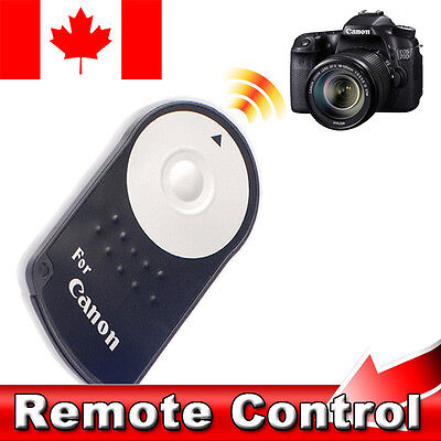 IR Wireless Remote Control RC-6 shutter for Canon EOS 500D 550D 600D 650D & more