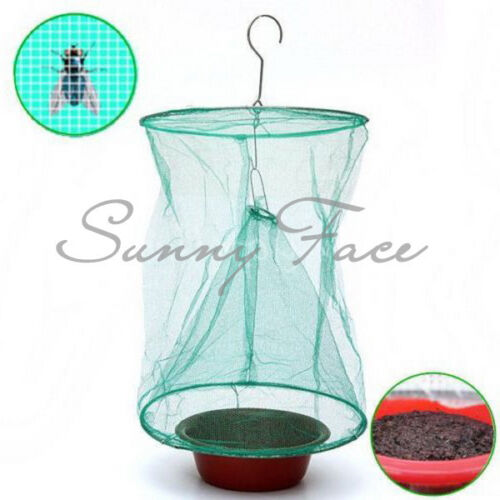 Reusable Green Eco Fly Motel Catcher Cage ...