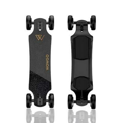 "WowGo All-Terrain Electric Skateboard/Longboard (Most Powerful) 6.5"" Dual Motor+"
