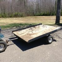 NEW PRICE. Utility trailer