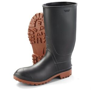 Black Youth Rubber Boots - Size 2