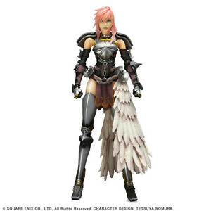 Final Fantasy XIII-2  Lightning Figure Play Arts Square Enix