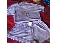 Ladies shortie pyjamas, size 10 (BNWT)